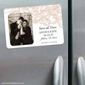 Jalousie 3 Refrigerator Save The Date Magnets
