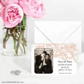 Jalousie 6 Wedding Save The Date Magnets