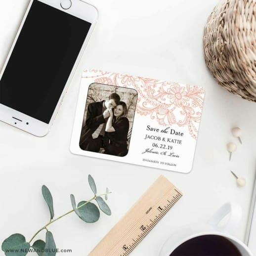Jalousie 7 Wedding Save The Date Magnets