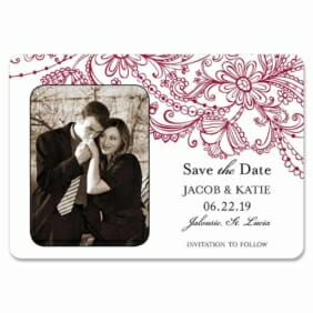 Jalousie 1 Save The Date Magnets