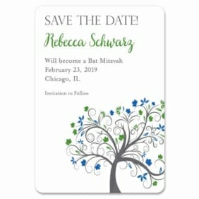 Jerusalem Bat Mitzvah 1 Save The Date Magnets