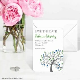 Jerusalem Bat Mitzvah 6 Wedding Save The Date Magnets