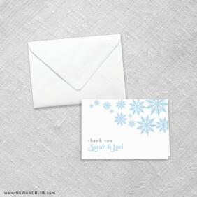 Joyful 8 Thank You Card
