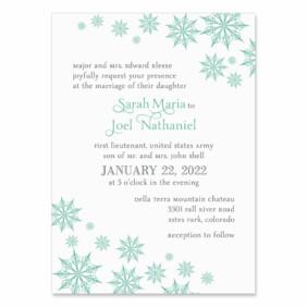 Joyful Wedding Invitation