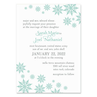 Joyful Wedding Invitation