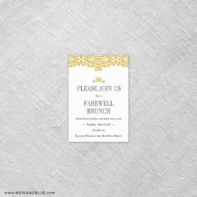 Juliet 7 Reception Card