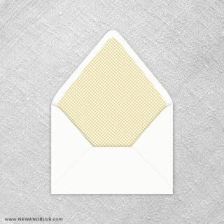Juliet 9 Envelope Liner