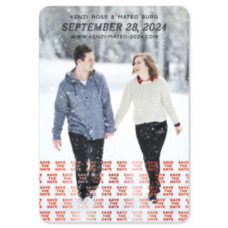 Just A Reminder 1 Foil Save The Date Magnets