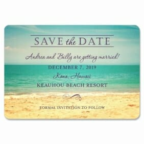 Kona 1 Save The Date Magnets