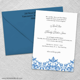 Laughter 3 Invitation And Color Envelope
