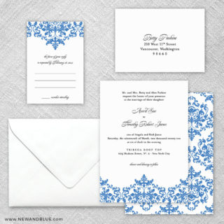Laughter 5 Wedding Invitation And Rsvp Card