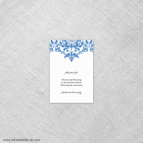 Laughter 7 Reception Card