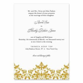 Laughter Wedding Invitation