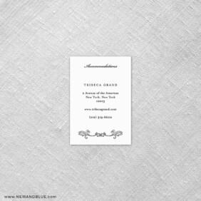 Laurelhurst 7 Reception Card