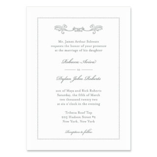 Laurelhurst Wedding Invitation