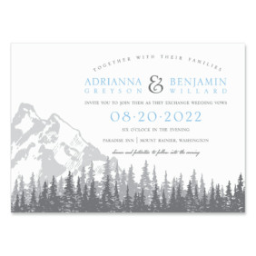 Livingston Nb Wedding Invitation