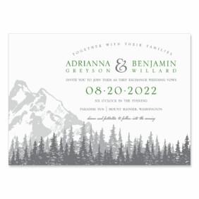 Livingston Nb Wedding Invitation