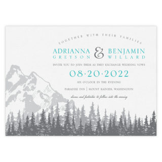 Livingston Wedding Invitation