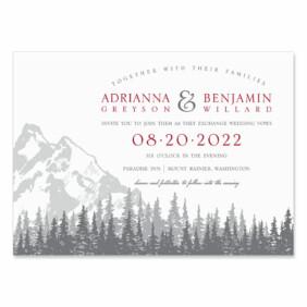 Livingston Wedding Invitation