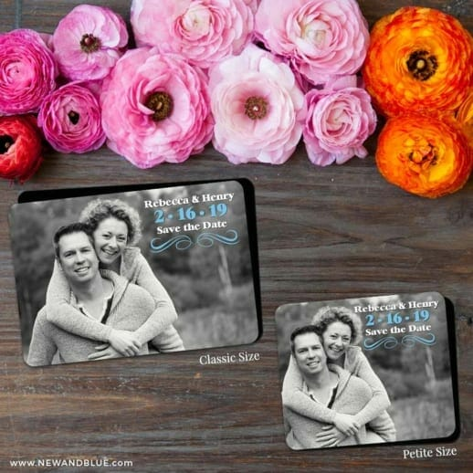 Long Branch 2 Save The Date Magnet Classic And Petite Size