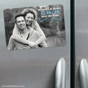 Long Branch 3 Refrigerator Save The Date Magnets