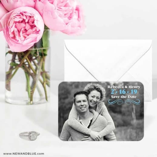 Long Branch 6 Wedding Save The Date Magnets