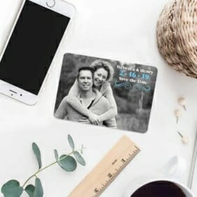 Long Branch 7 Wedding Save The Date Magnets
