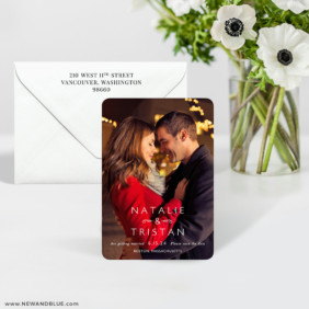 Look Of Love 7 Wedding Save The Date Magnet