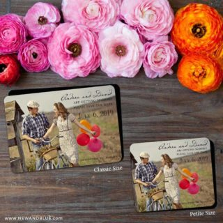 Love Her Madly 2 Save The Date Magnet Classic And Petite Size