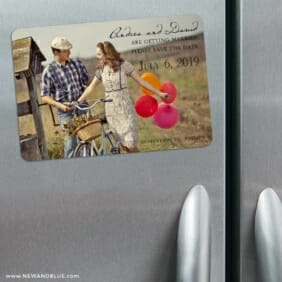 Love Her Madly 3 Refrigerator Save The Date Magnets
