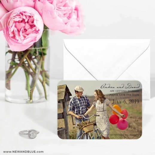 Love Her Madly 6 Wedding Save The Date Magnets