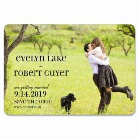 Love Plus Happiness 1 Save The Date Magnets