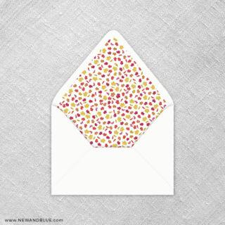 Lovely Leaves 9 Envelope Liner