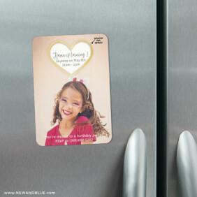 Lovestruck Birthday 3 Scratch Off Refrigerator Save The Date Magnets