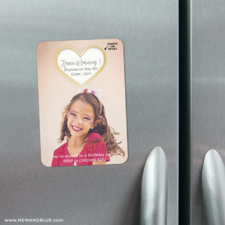 Lovestruck Birthday 3 Scratch Off Refrigerator Save The Date Magnets