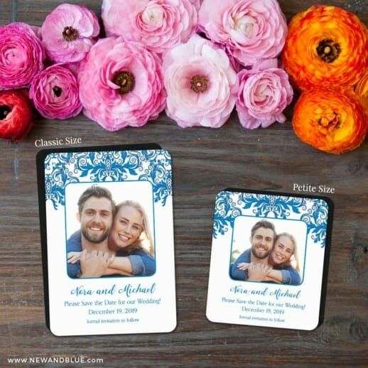 Lucca 2 Save The Date Magnet Classic And Petite Size