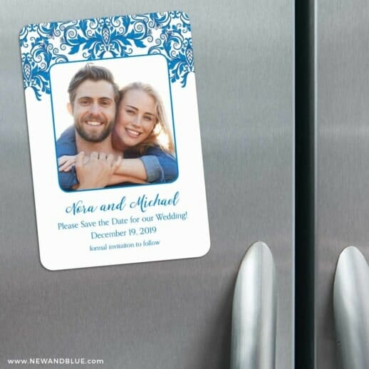 Lucca 3 Refrigerator Save The Date Magnets