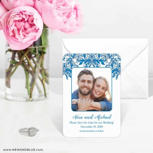 Lucca 6 Wedding Save The Date Magnets