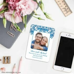 Lucca 7 Wedding Save The Date Magnets