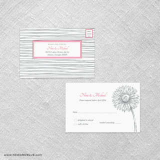Lucy All In One Detachable Response Card