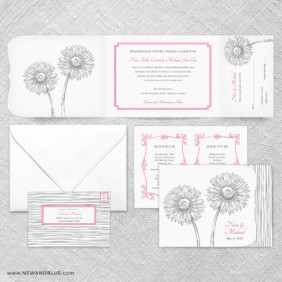 Lucy All In One Wedding Invitation Suite