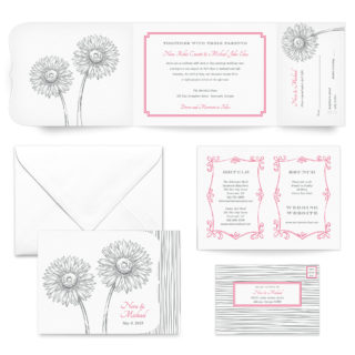 Lucy All Inclusive Wedding Invitation