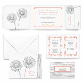 Lucy All Inclusive Wedding Invitation
