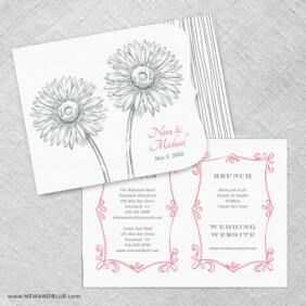Lucy Allinone Wedding Invitation Set