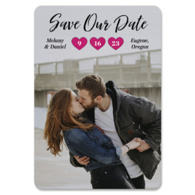 Magical Moments 1 Save The Date Magnets