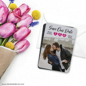 Magical Moments 7 Wedding Save The Date Magnet