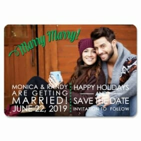 Marry Marry 1 Save The Date Magnets