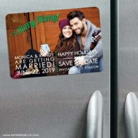 Marry Marry 3 Refrigerator Save The Date Magnets