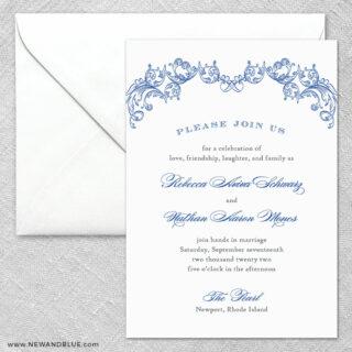 Marthas Vineyard 2 Invitation And Envelope