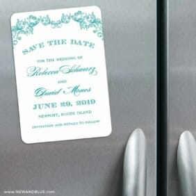 Marthas Vineyard 3 Refrigerator Save The Date Magnets